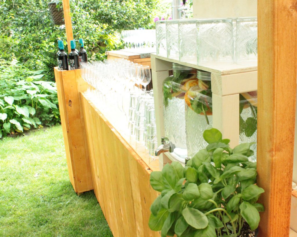 tuinfeest bar