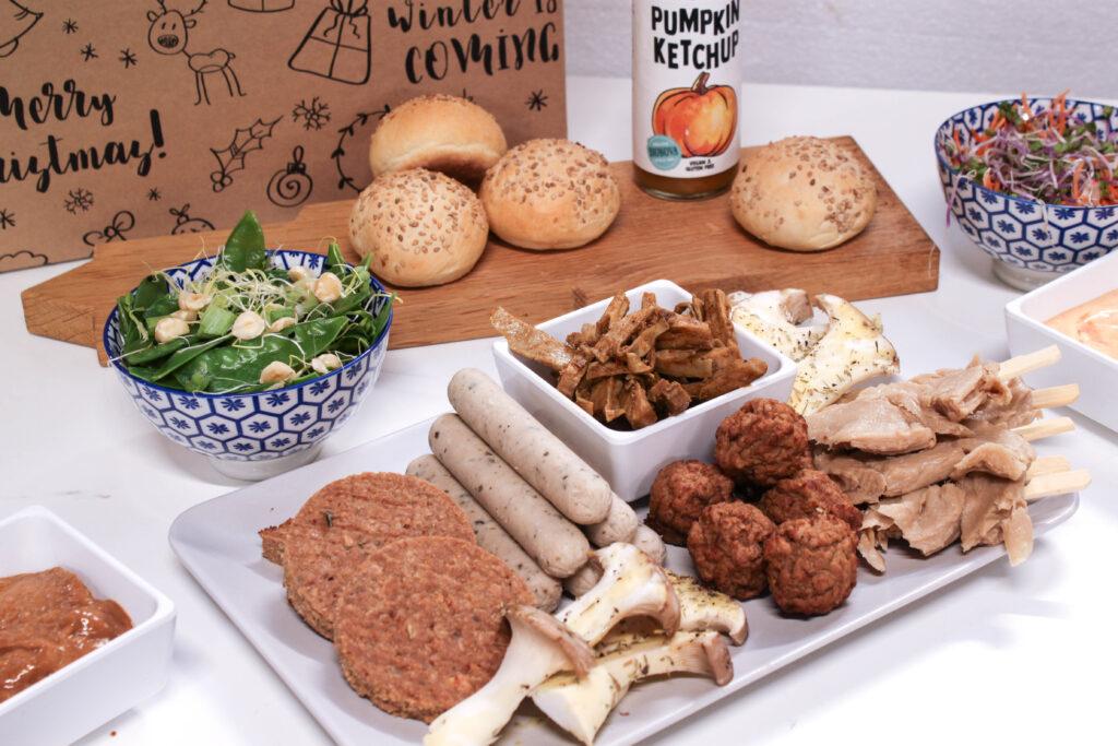 Vegetarische gourmetschotel bestel je bij Krop en Kool