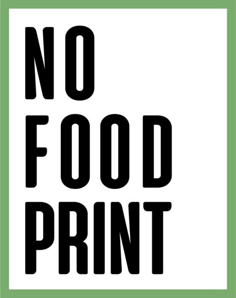 leave no foodprint