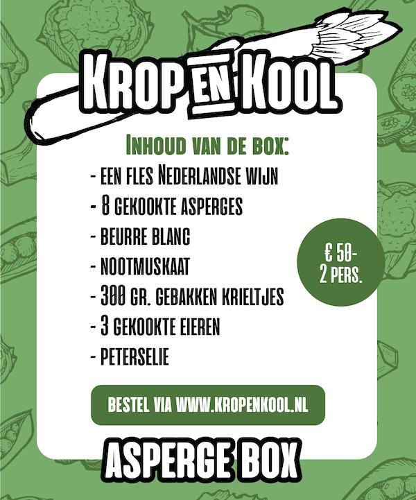 Aspergebox van Krop en Kool