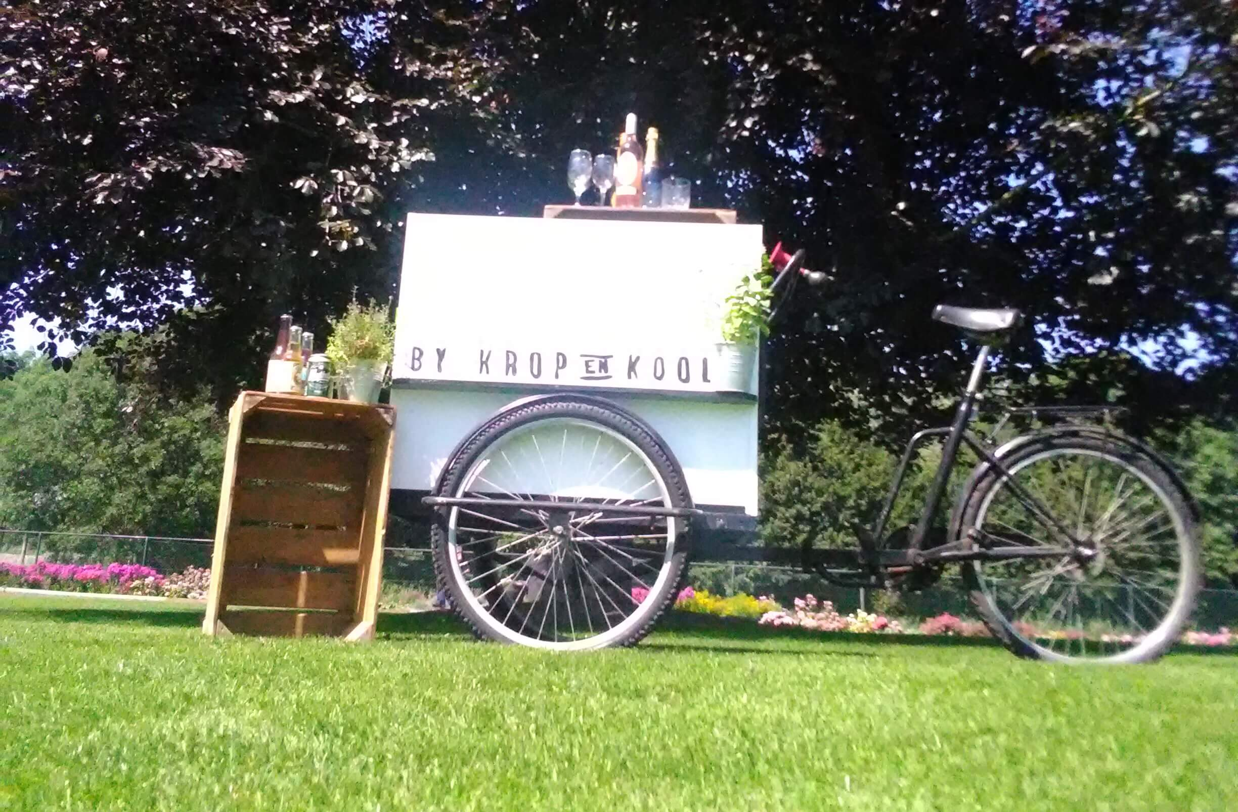 duurzame catering met caterbikes