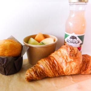 Ontbijtbox zoet. Bestel een duurzaam en biologisch ontbijt bij Krop en Kool