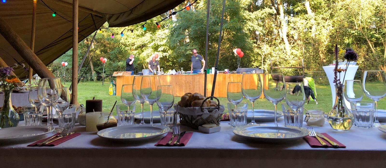 duurzame catering op bruiloft
