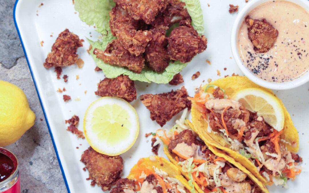 Vegan Festival Food met The Lemon Kitchen